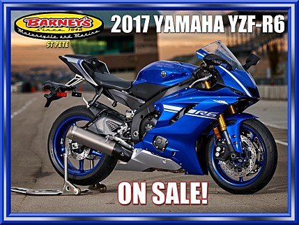 2017 Yamaha YZF-R6 for sale 200600383