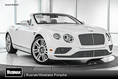 2017 bentley Continental GT V8 Convertible for sale 101026481