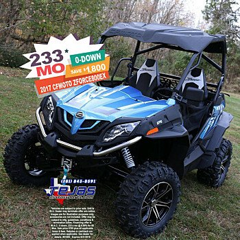 2017 cfmoto ZForce 800 for sale 200584411
