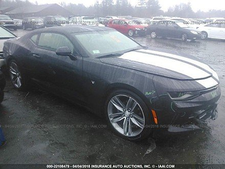 2017 chevrolet Camaro LT Coupe for sale 101015250