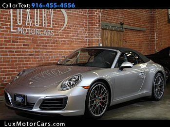 2017 porsche 911 Cabriolet for sale 100962278