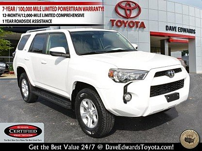 2017 toyota 4Runner 4WD for sale 101017655