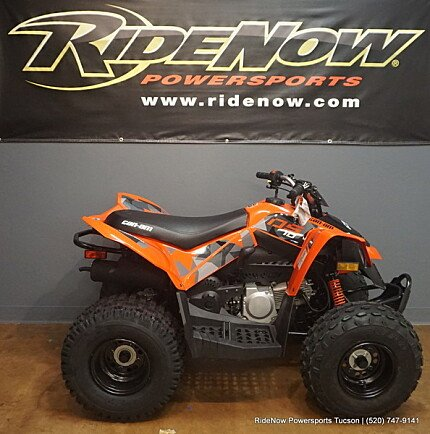 2018 Can-Am DS 70 for sale 200565011
