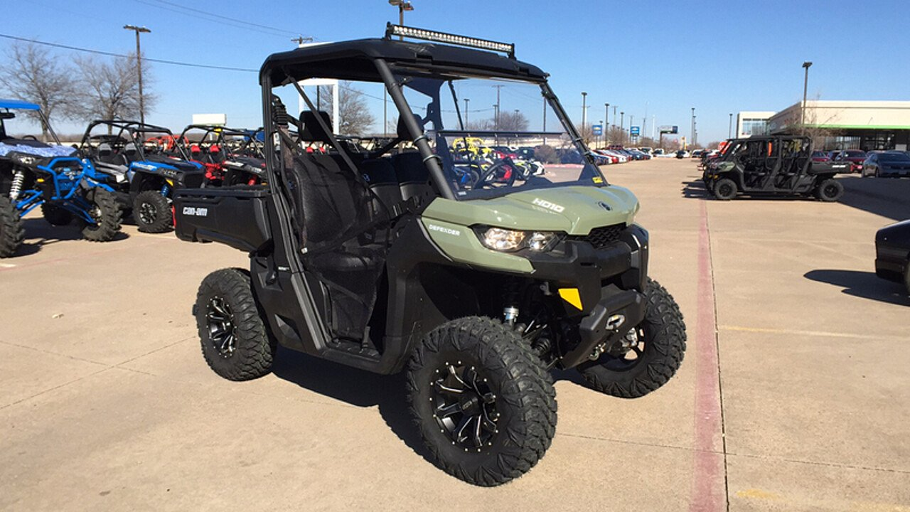 2018 Can-Am Defender for sale 200516938