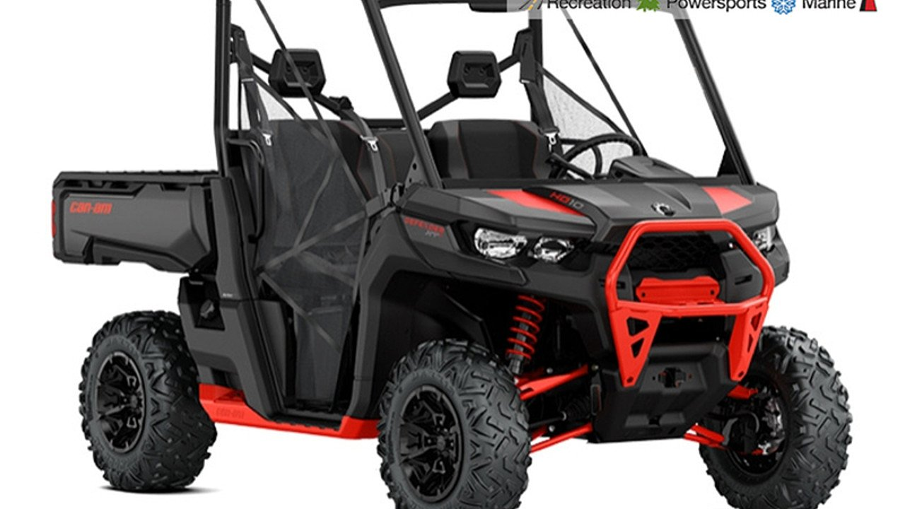 2018 Can-Am Defender for sale 200517052