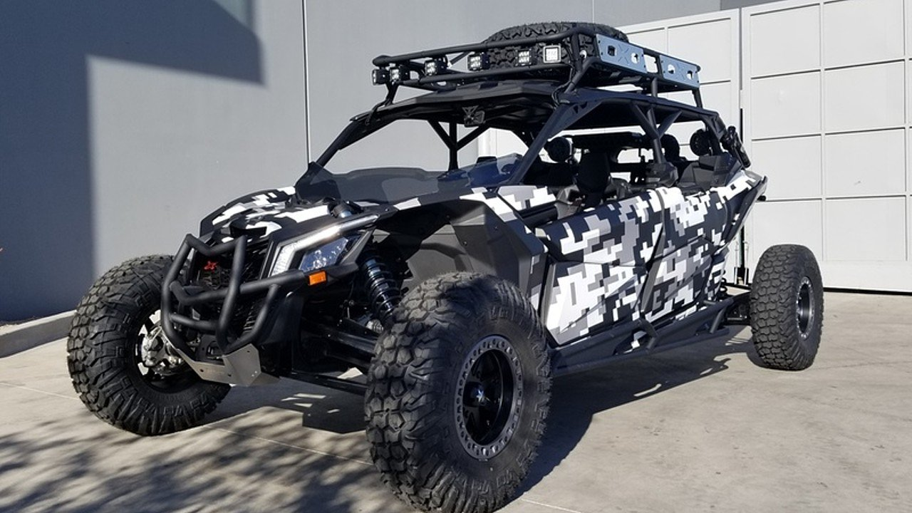 2018 Can-Am Maverick MAX 1000R for sale 200503518