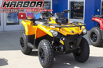 2018 Can-Am Outlander 450 for sale 200522236