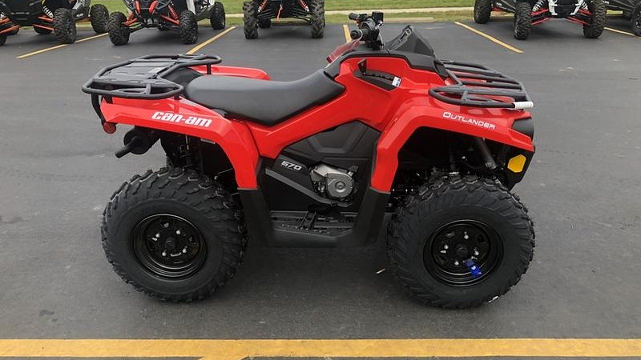 2018 Can-Am Outlander 570 for sale 200499156