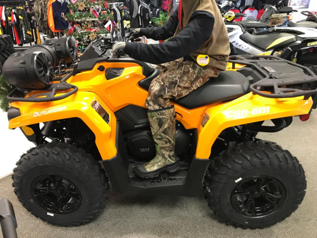 Can Am Outlander Max 2018 >> 2018 Can-Am Outlander 570 for sale near Winston-Salem, North Carolina 27103 - Motorcycles on ...