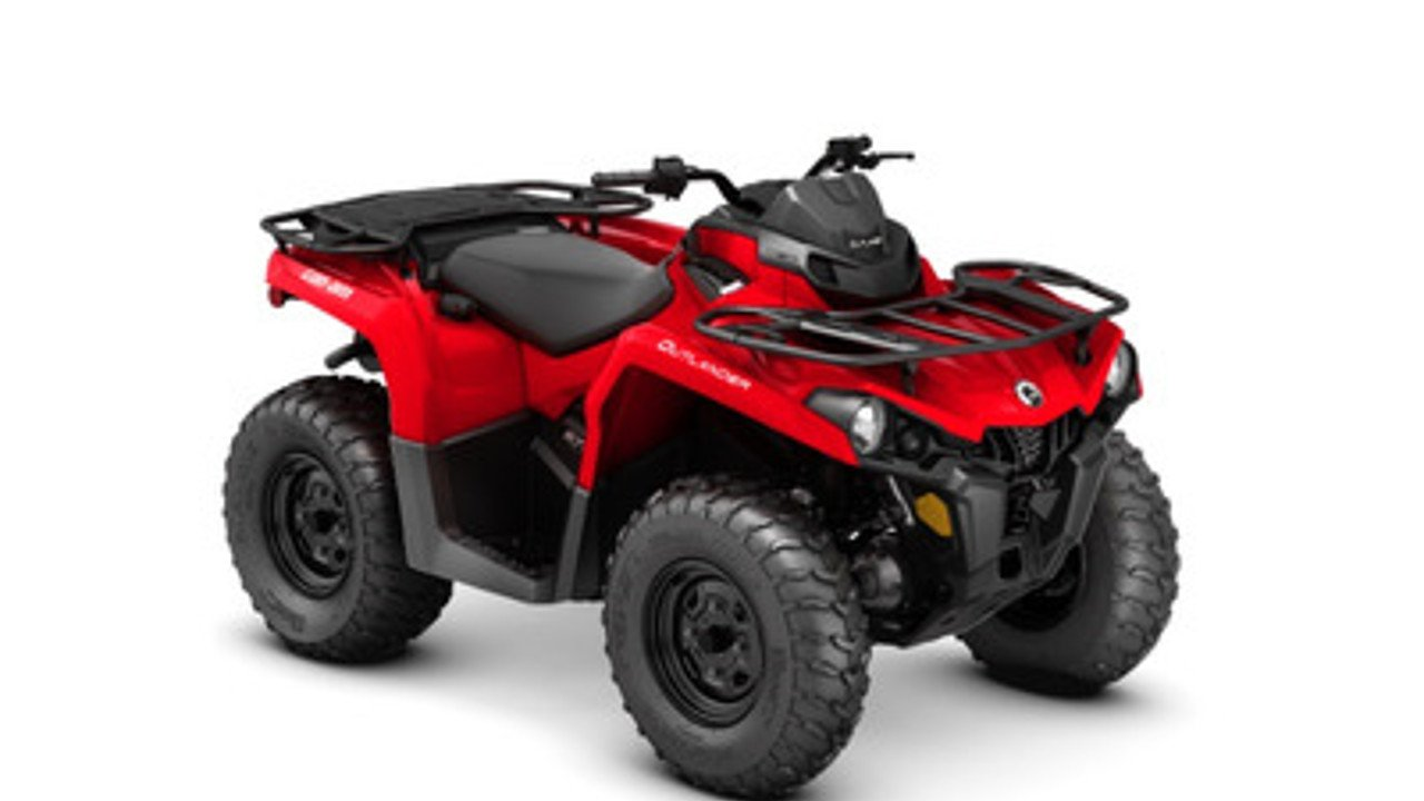 2018 Can-Am Outlander 570 for sale 200502730