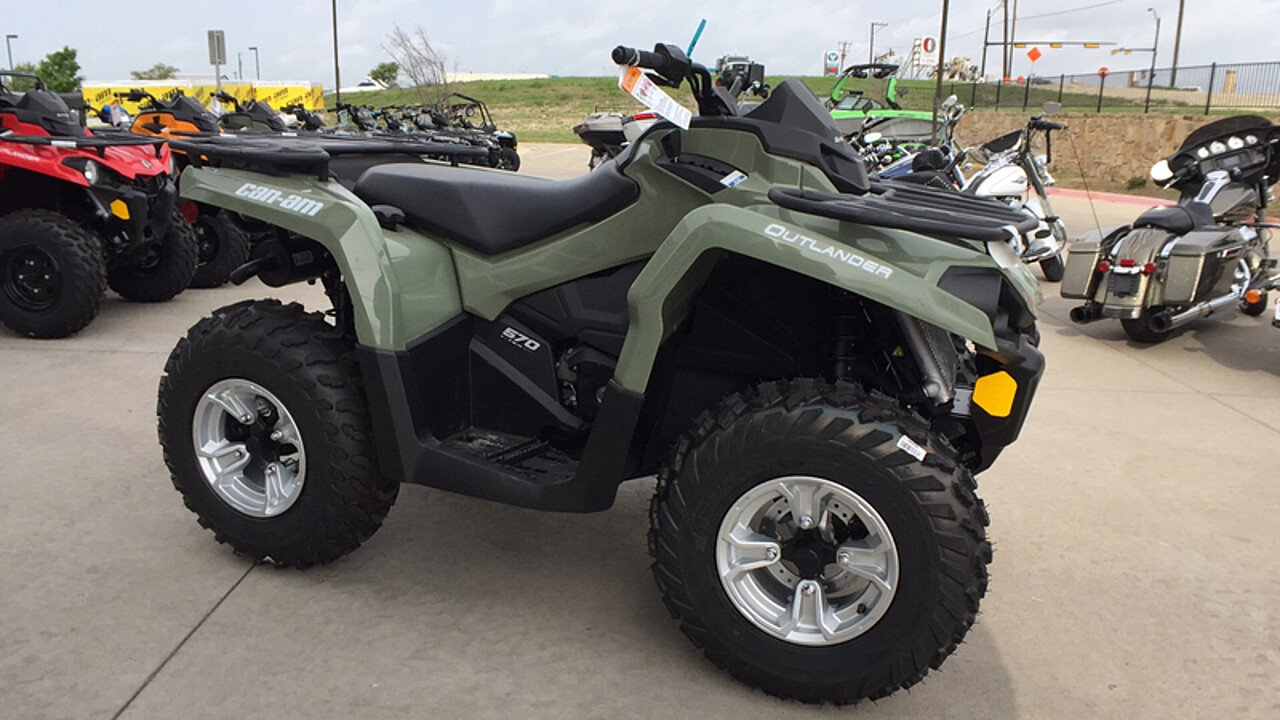 2018 Can-Am Outlander 570 for sale 200548592