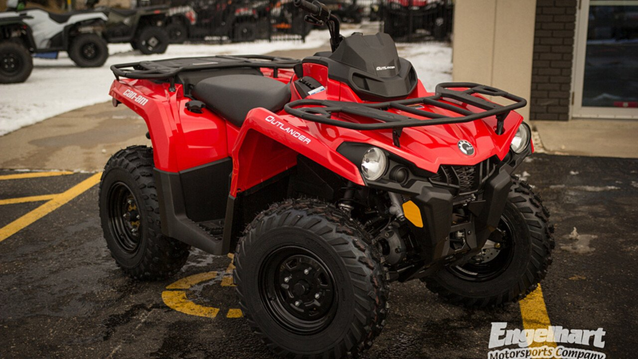 2018 Can-Am Outlander 570 for sale 200582150