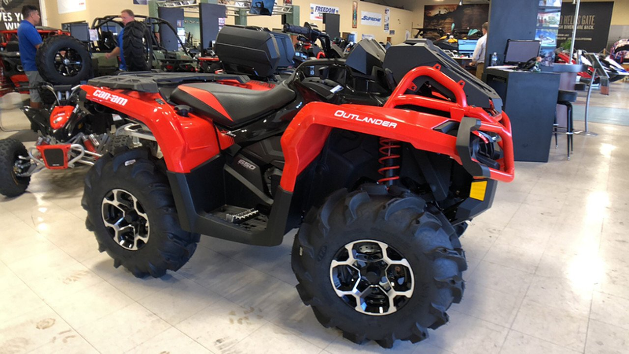 2018 Can-Am Outlander 650 XMR for sale 200593502