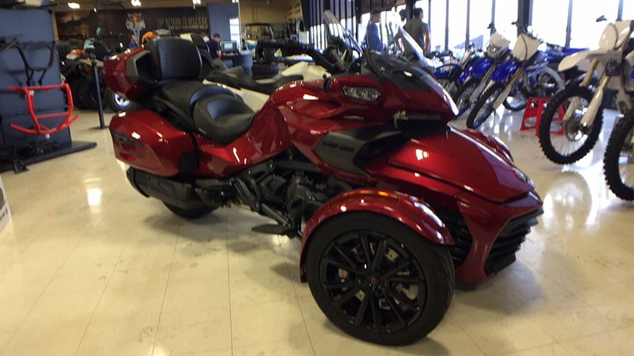 2018 Can-Am Spyder F3 for sale 200533413