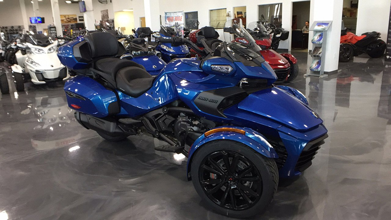 2018 Can-Am Spyder F3 for sale 200534201