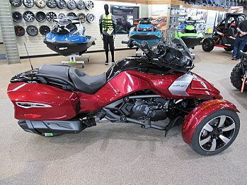 2018 Can-Am Spyder F3 for sale 200536713
