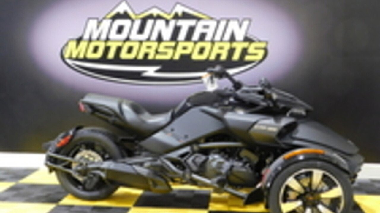 2018 Can-Am Spyder F3 for sale 200550598