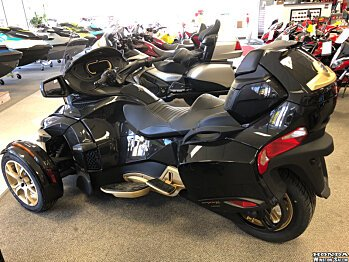 2018 Can-Am Spyder RT for sale 200502137