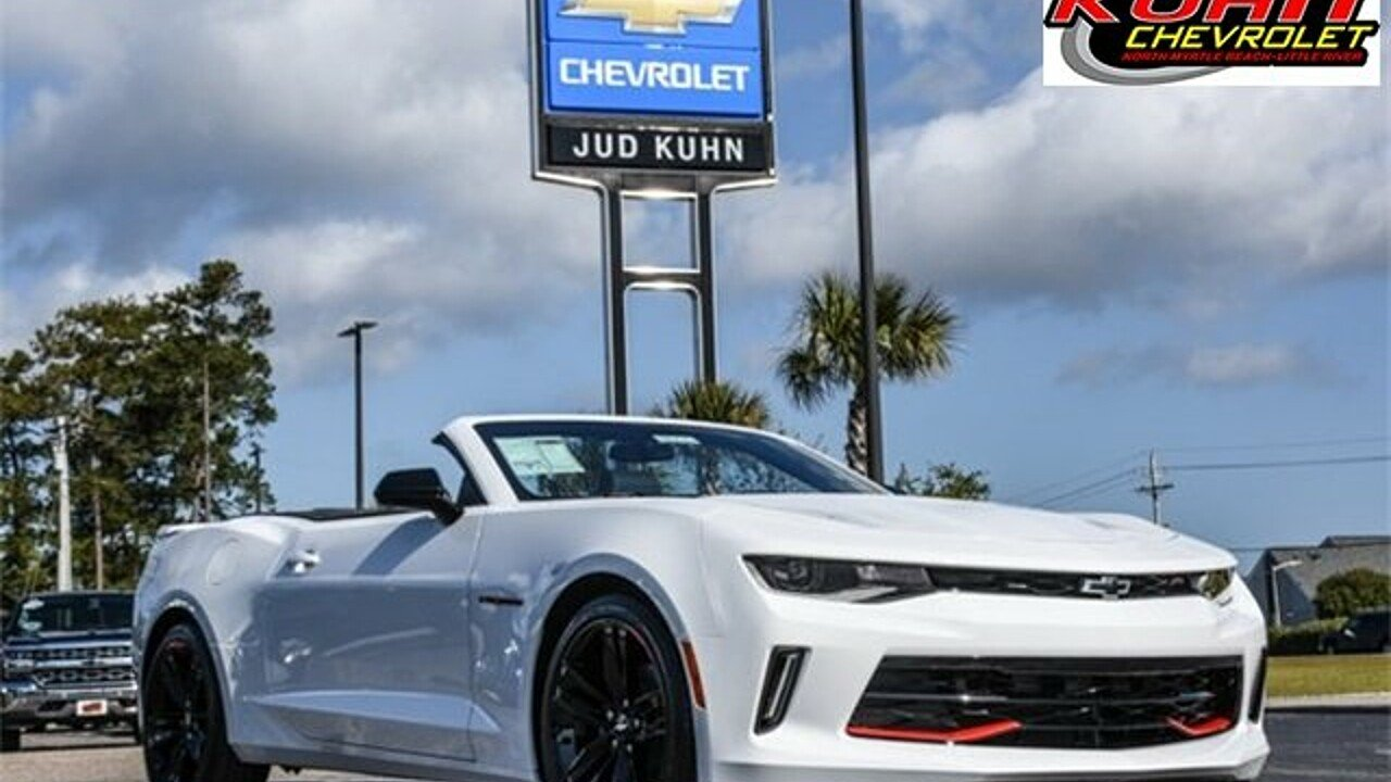 2018 Chevrolet Camaro LT Convertible for sale 100976106