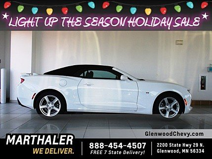 2018 Chevrolet Camaro LT Convertible for sale 100930778