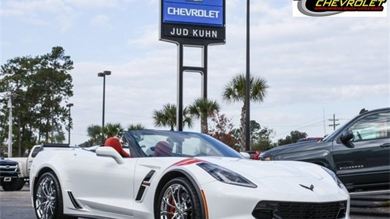 2018 Chevrolet Corvette Grand Sport Convertible for sale 100928772