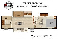2018 Coachmen Chaparral for sale 300141629