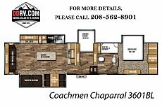 2018 Coachmen Chaparral for sale 300148257