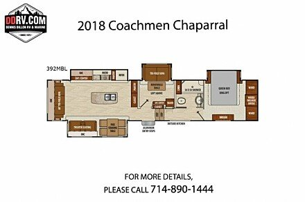 2018 Coachmen Chaparral for sale 300159343