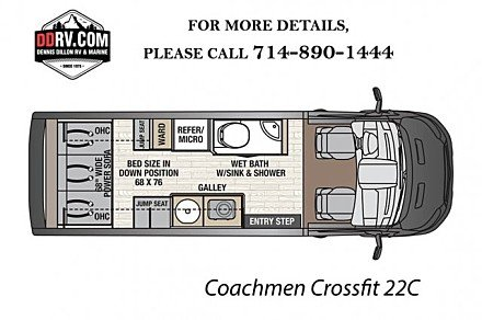 2018 Coachmen Crossfit for sale 300146345