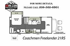 2018 Coachmen Freelander for sale 300153328
