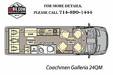 2018 Coachmen Galleria for sale 300145531