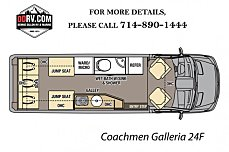 2018 Coachmen Galleria for sale 300146350