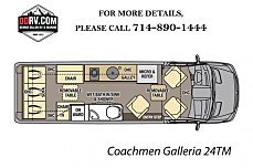 2018 Coachmen Galleria for sale 300146351