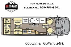 2018 Coachmen Galleria for sale 300159657