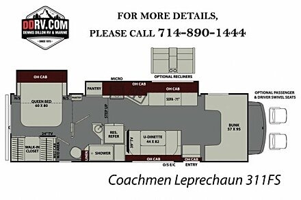 2018 Coachmen Leprechaun for sale 300148045