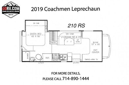 2018 Coachmen Leprechaun for sale 300160767