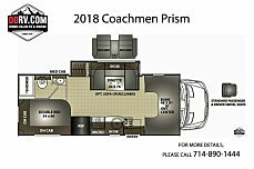 2018 Coachmen Prism for sale 300152557
