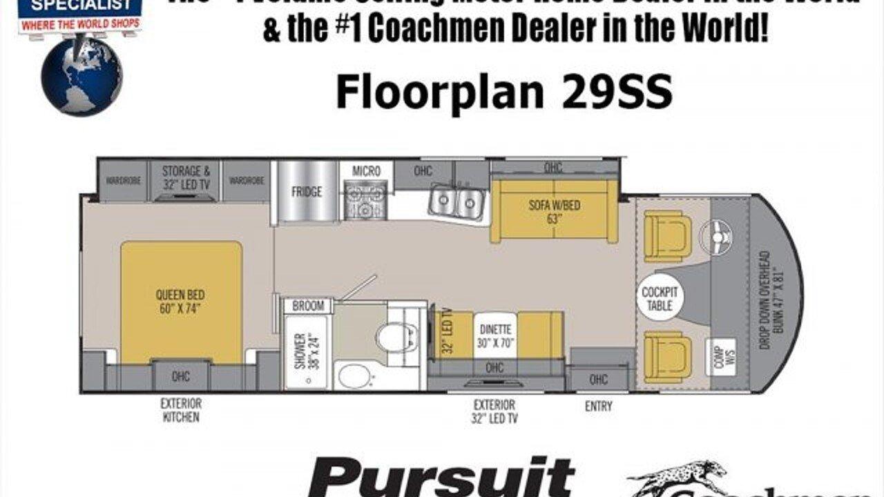 2018 Coachmen Pursuit for sale 300149098