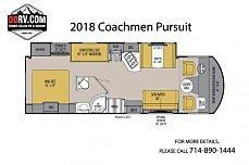 2018 Coachmen Pursuit for sale 300150498