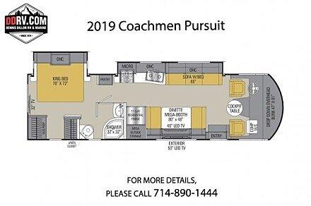 2018 Coachmen Pursuit for sale 300163635