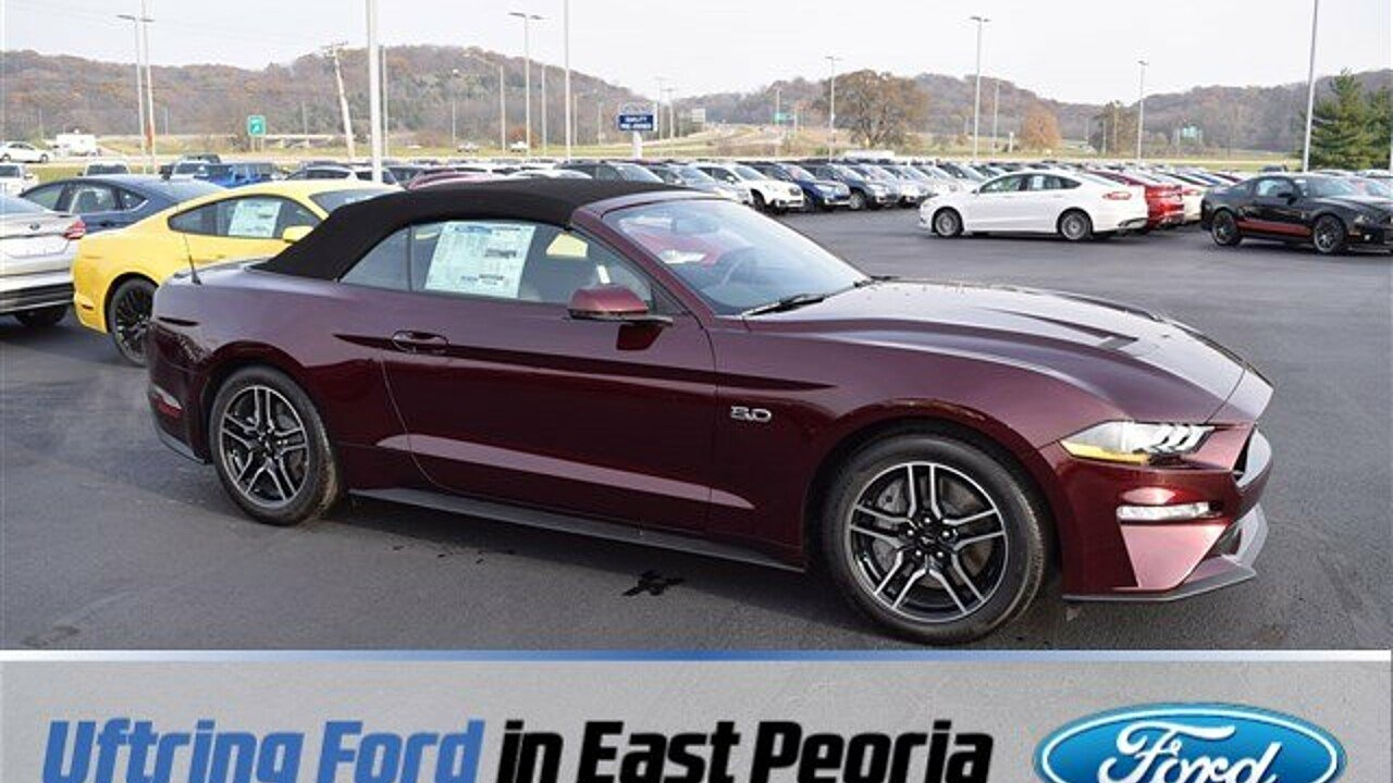2018 Ford Mustang GT Convertible for sale 100924083