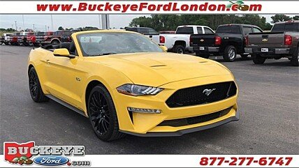 2018 Ford Mustang GT Convertible for sale 100997843