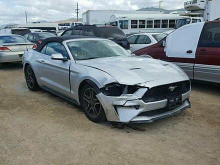 2018 Ford Mustang for sale 101029887