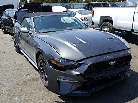 2018 Ford Mustang for sale 101033503
