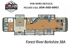 2018 Forest River Berkshire for sale 300152072
