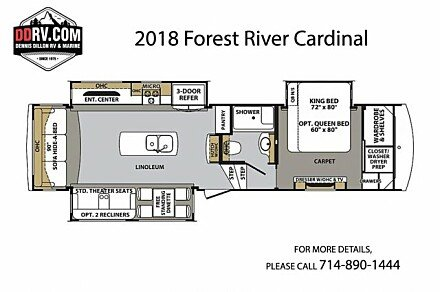 2018 Forest River Cardinal for sale 300153716
