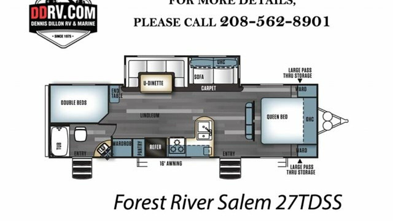 2018 Forest River Salem for sale 300140666