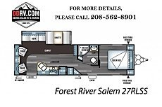 2018 Forest River Salem for sale 300154439