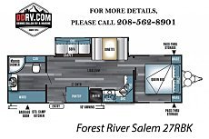 2018 Forest River Salem for sale 300157354