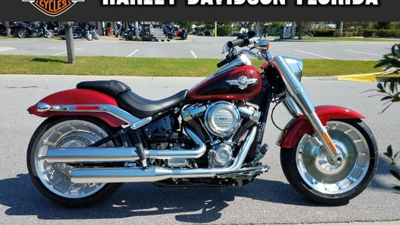 2018 Harley-Davidson Softail Fat Boy for sale 200523709
